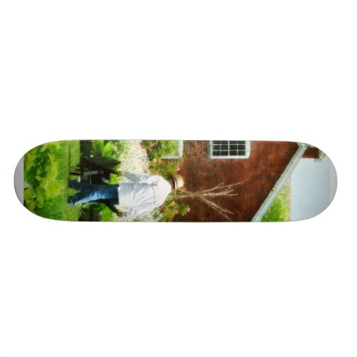 Working on the Farm Skate Deck