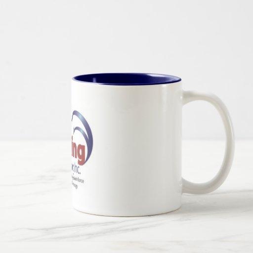 Working On Working, Inc. Two-Tone Coffee Mug