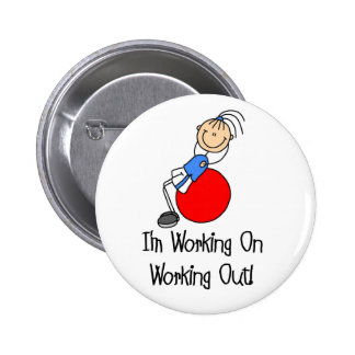 Working On Working Out Button