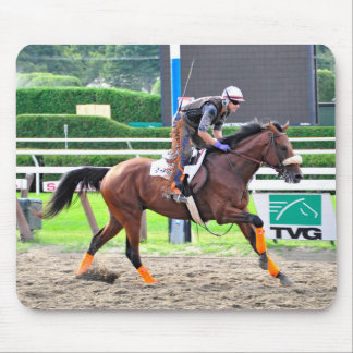Working Out in Style at Saratoga Mouse Pad