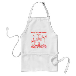 Working Out To Be Fit And Sexy? Hell No. Adult Apron