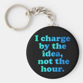 Working Overtime Keychain