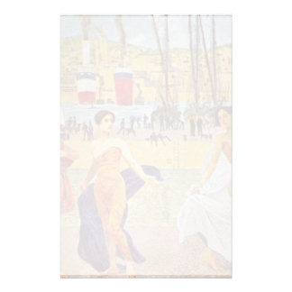 Working-Prosperity-Beauty Detail By Klinger, Max ( Stationery