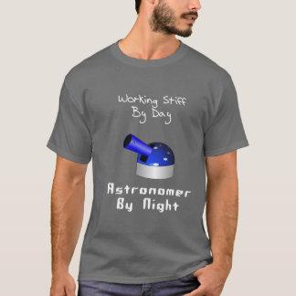 Working Stiff Astronomer T-Shirt
