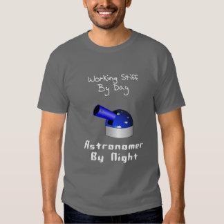 Working Stiff Astronomer Tee Shirt