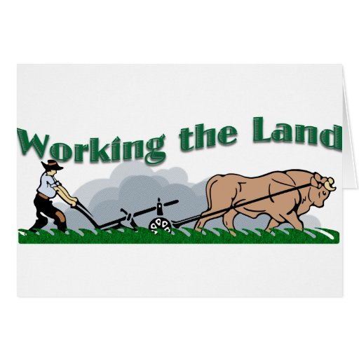 Working the Land Card