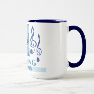 Working Through the Blues Mug