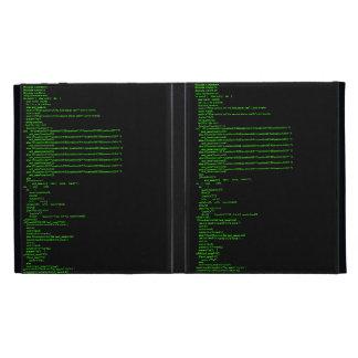 Working tic-tac-toe game C++ code iPad Folio Case