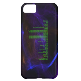 Working tic-tac-toe game C++ code with flames. iPhone 5C Cover