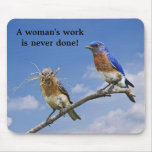 working together 3, A woman's work is never done! Mouse Pad