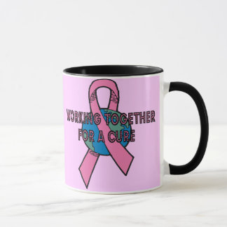 Working Together Breast Cancer Mug