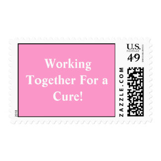 Working Together For a Cure! Postage Stamp
