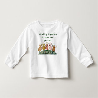 Working together toddler t-shirt