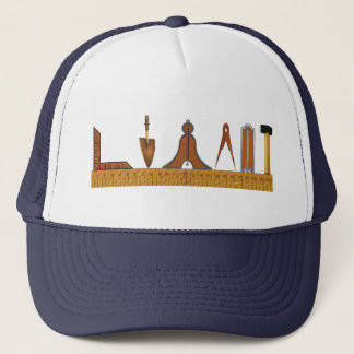 Working Tools of the Free Mason Trucker Hat