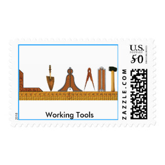 Working Tools of the Freemason Postage