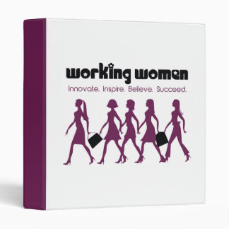 Working Women 3 Ring Binder