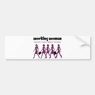 Working Women Car Bumper Sticker