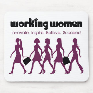 Working Women Mouse Pad