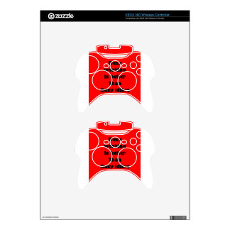 working xbox 360 controller decal