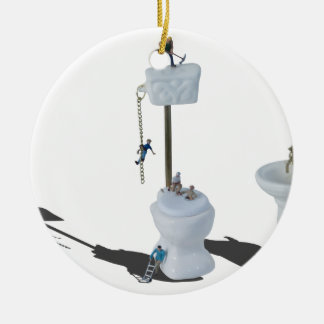 WorkingOnPlumbingIssues052714.png Ceramic Ornament