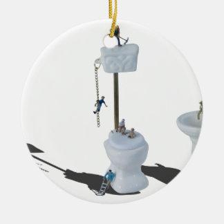 WorkingOnPlumbingIssues052714.png Ceramic Ornament