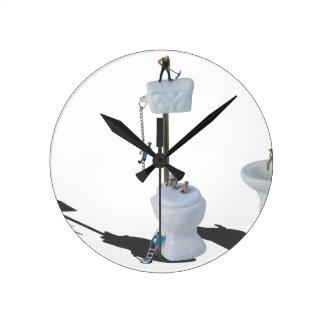 WorkingOnPlumbingIssues052714.png Reloj Redondo Mediano