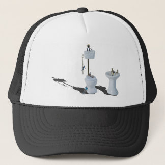 WorkingOnPlumbingIssues052714.png Trucker Hat