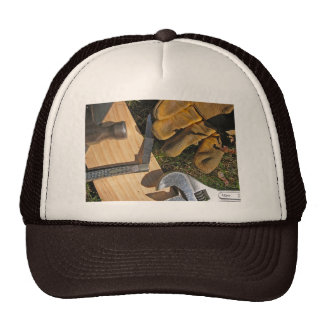 Workman's tools Labor Day cap Trucker Hat