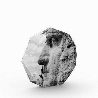 Workmen on George Washington Face Mount Rushmore Acrylic Award