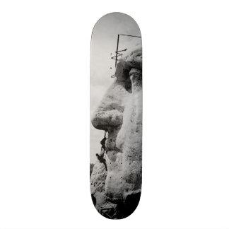 Workmen on George Washington Face Mount Rushmore Skate Board Deck