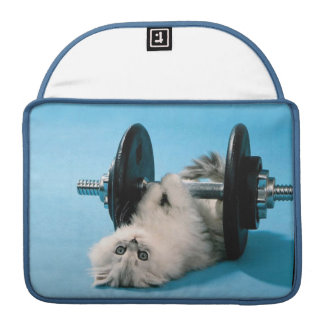 Workout Cat MacBook Pro Sleeve