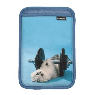 Workout Cat Sleeve For iPad Mini