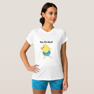 Workout Clothes For Women - One Fit Chick Shirt