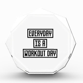 Workout Day fitness Z2y22 Award