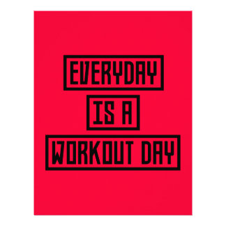 Workout Day fitness Z2y22 Flyer
