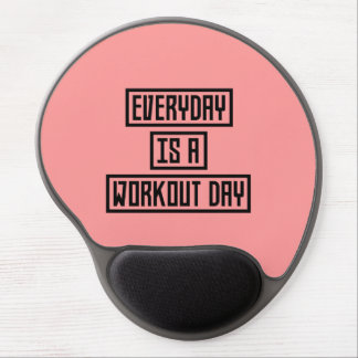 Workout Day fitness Z2y22 Gel Mouse Pad