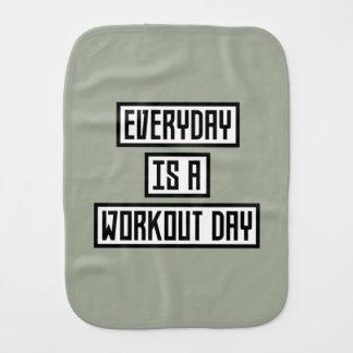 Workout Day fitness Zx41w Burp Cloth