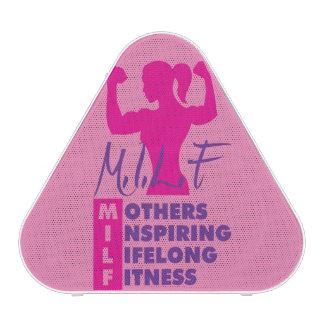 Workout Female  Fitness Motivation - MILF Bluetooth Speaker