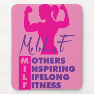 Workout Female  Fitness Motivation - MILF Mouse Pad