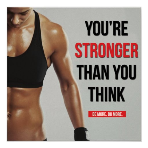 Workout Fitness Gym Motivational Poster