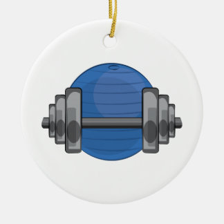 Workout Gear Christmas Ornaments