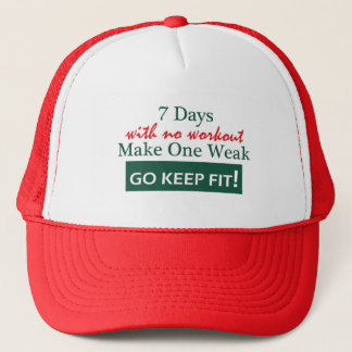 Workout: Go Keep Fit Trucker Hat
