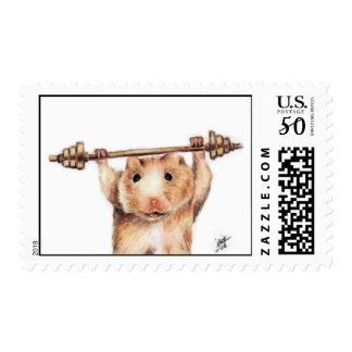 Workout (Hamster) Stamps