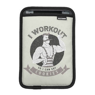 Workout Humor - I Workout So I Can Eat Cookies Sleeve For iPad Mini