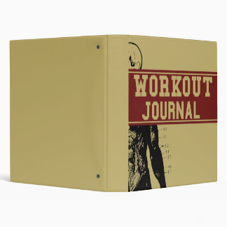 Workout Journal Binder