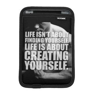 Workout Motivation - Create Yourself iPad Mini Sleeves