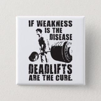 Workout Motivation - Deadlift Is The Cure Button