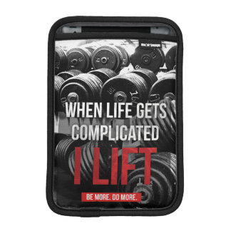 Workout Motivation - I LIFT Sleeve For iPad Mini