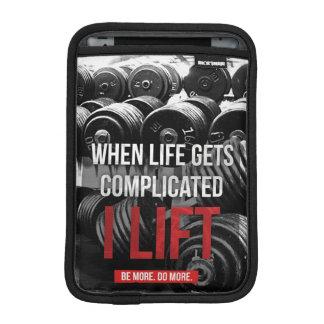Workout Motivation - I LIFT Sleeve For iPad Mini