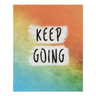 Workout Motivation, Keep Going, Motivational Print